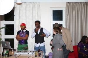 africa night & työ 411